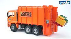 Bruder MAN TGA kamion za odvoz smeća
