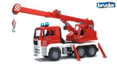 Bruder gasilsko vozilo MAN z lučkami, zvokom in žerjavom