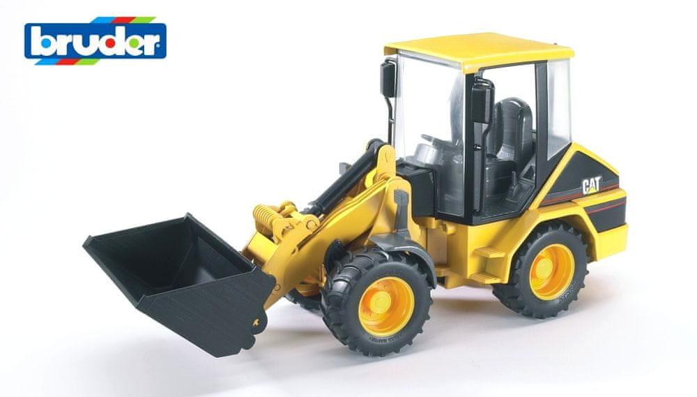 Bruder Konstrukční vozy - CAT kolový nakladač 1:16