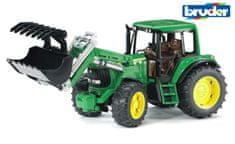BRUDER Farmer - traktor John Deere s predným nakladačom