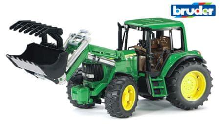 Bruder traktor nakladač John Deere 6920