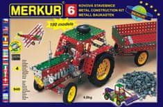 Merkur Stavebnice 6 100 modelů 940ks