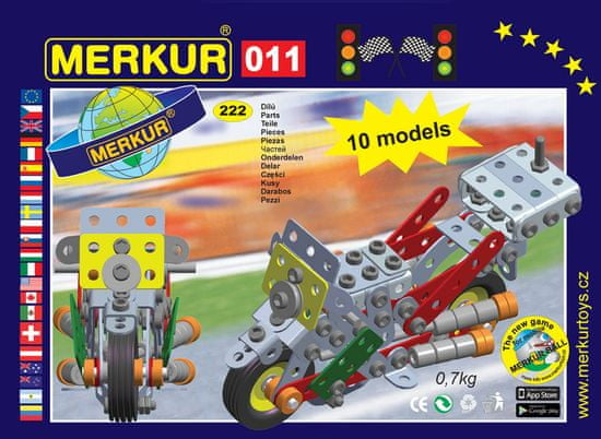 Merkur M 011 Motocykl - 230 elementów