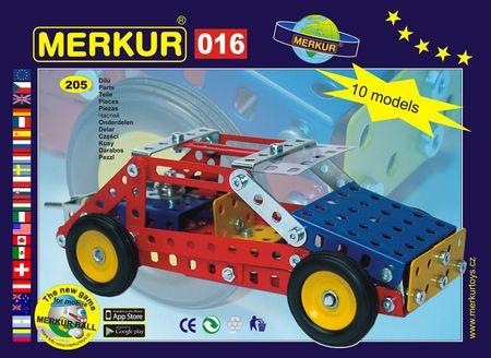 Merkur Stavebnice 016 Buggy 10 modelů 205ks