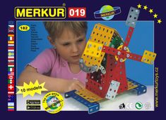 Merkur Stavebnice 019 Mlýn 10 modelů 182ks