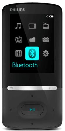 Philips GoGear Azure SA5AZU04KF / 4GB Black