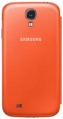 SAMSUNG EF-FI950BOEG Galaxy S4 Telefon tok, Narancs