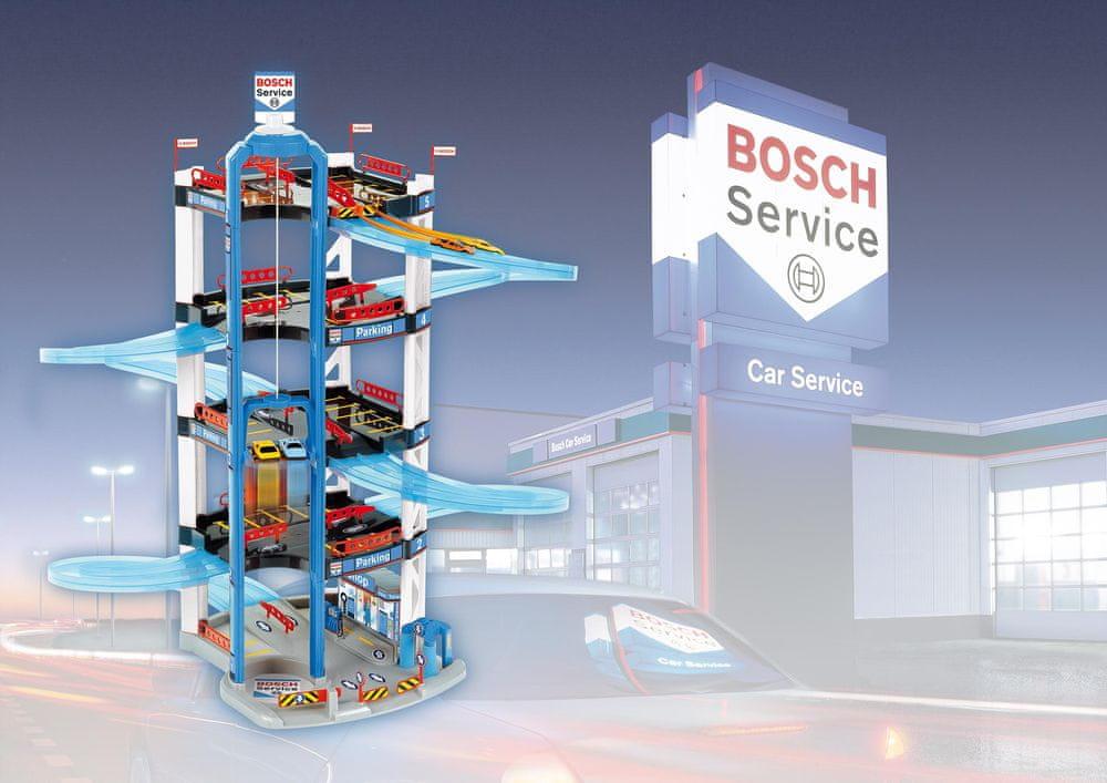 Klein 5 patrová garáž Bosch - rozbaleno