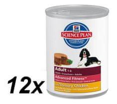 Hill's Canine Adult Kurczak - 12 x 370 g