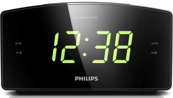 PHILIPS AJ3400/12 Órás rádió