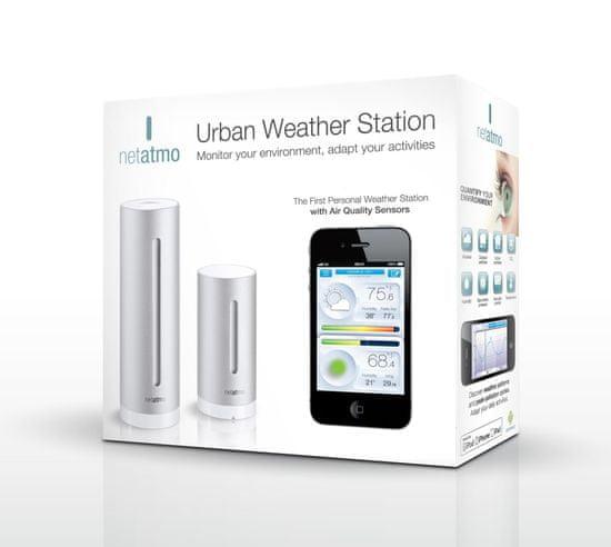 Netatmo Urban Weather Station - rozbalené