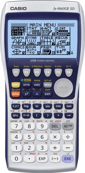 Casio FX 9860G II (b)