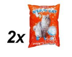 Akinu stelivo HAPPY CAT 2 x 7,2 l Rocks
