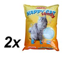 Akinu żwirek HAPPY CAT 2 x 7,2 l Sandy