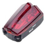 MacTronic Lampa rowerowa tylna ze wskaźnikiem laserowym BPM-LASER-LED