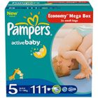 Pampers Active Baby 5 Junior - 111 szt.