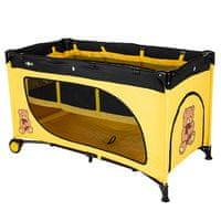 ZOPA Design Cestovná postieľka Travel, Yellow Bear