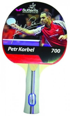 Butterfly lopar za namizni tenis Petr Korbel 700