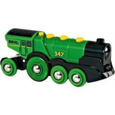 Brio Masywna zielona lokomotywa 33593