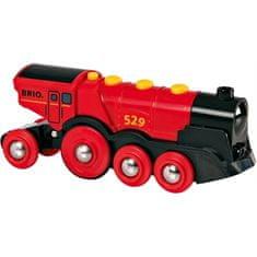 Brio mogočna rdeča lokomotiva