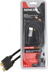 Sencor SAV 166-025 (HDMI kabel 1.4)
