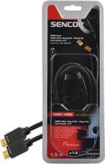 SENCOR SAV 166-015 (HDMI kabel 1.4) 1,5 m