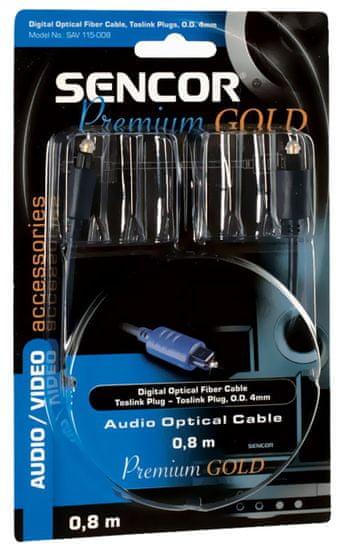 SENCOR SAV 115-015 (Digitální optický kabel), 1,5 m