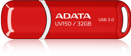 A-Data UV150, 32GB, červený