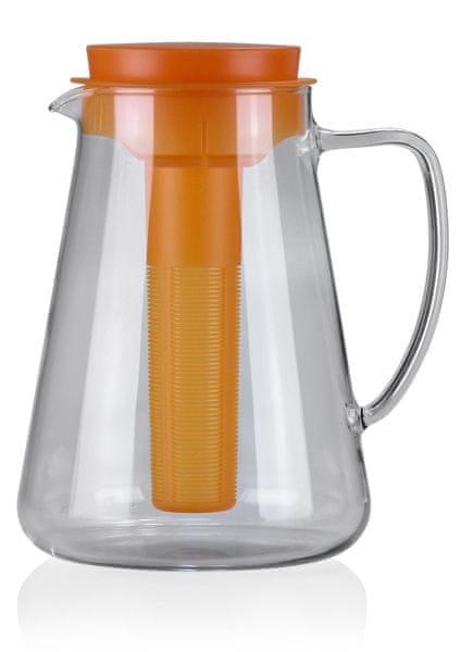 Tescoma Džbán TEO 2.5 l, s vyluhováním a chlazením, oranžová (646628)