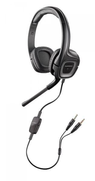 Plantronics Sluchátka s mikrofonem Audio 355, černá