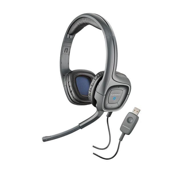 Plantronics Sluchátka s mikrofonem Audio 655 DPS, černá (80935-15)