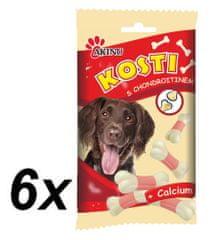 Akinu Kosti pro psy s chondroitinem a kalciem 6 x 50g