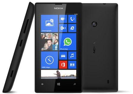 Nokia Lumia 520, černá