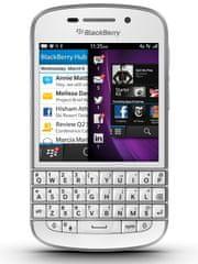 BlackBerry Q10 QWERTY, bílá