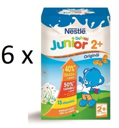 Nestlé mlieko Junior Doremi 2+ 700g 5+1 zdarma