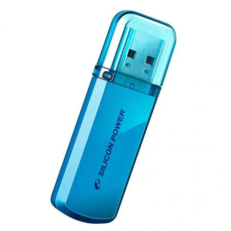 Silicon Power USB ključ Helios 32 GB, USB 2.0, moder