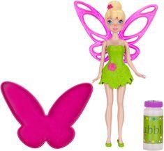 Disney Fairy Tinkerbell + bańki mydlane