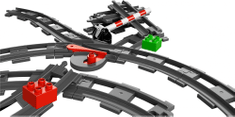 LEGO DUPLO 10506 Tory kolejowe i zwrotnica