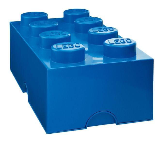 LEGO® Storage box 25x50 cm, modrá