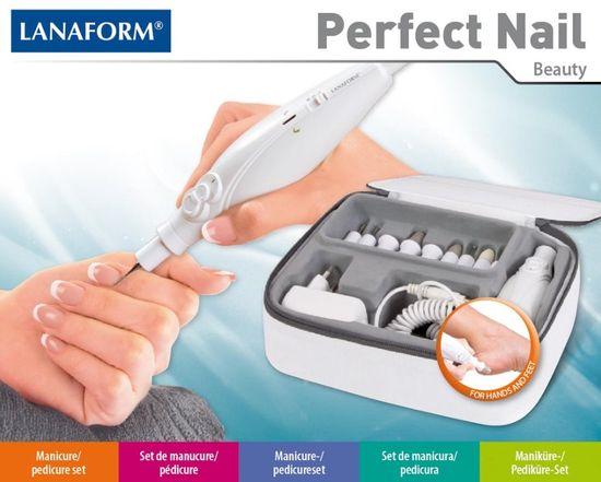 Lanaform pripomoček za pedikuro in manikuro Perfect Nail