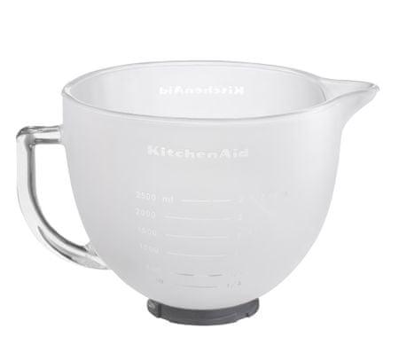 KitchenAid steklena skleda za mleko, 4,8 L