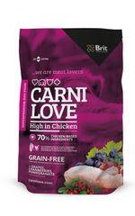 Brit Carnilove High in Chicken Kutyaeledel, 1,5 kg