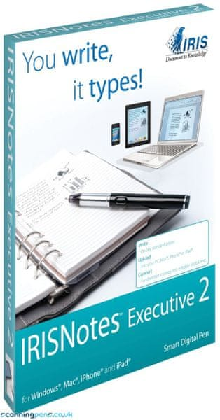 IRIScan Notes Executive 2