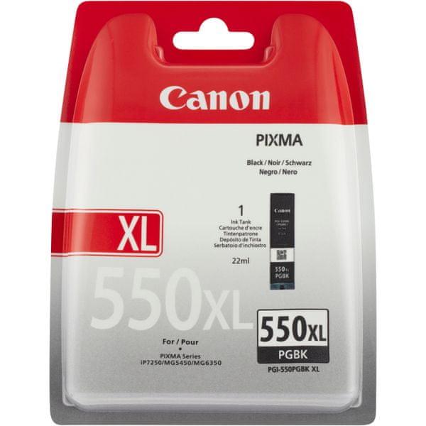 Canon PGI-550PGBk, XL (6431B004), černá pigmentová
