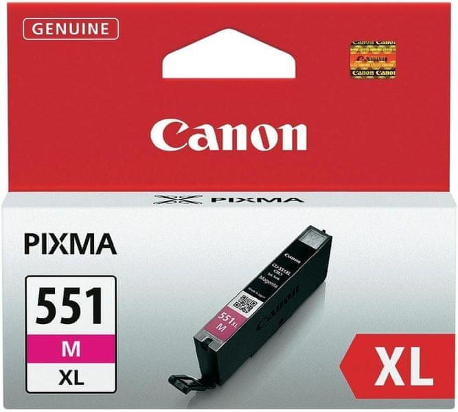 Canon CLI-551M, XL (6445B001), purpurová