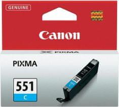 Canon CLI-551C, XL, azurová