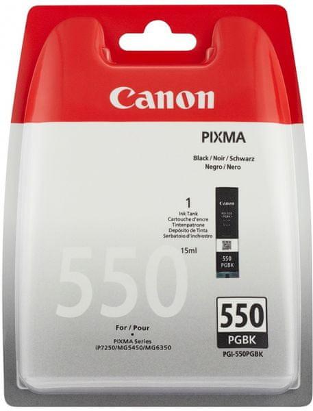Canon PGI-550Bk, černá pigmentová (6496B001)