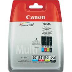 Canon CLI-551CMYBK, Multipack (6509B009)
