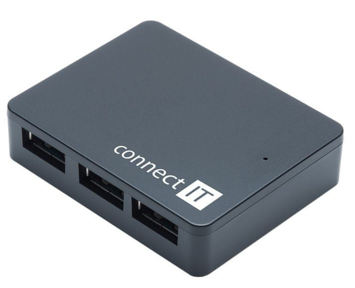 Connect IT SWIFT USB 3.0 hub se 4 porty