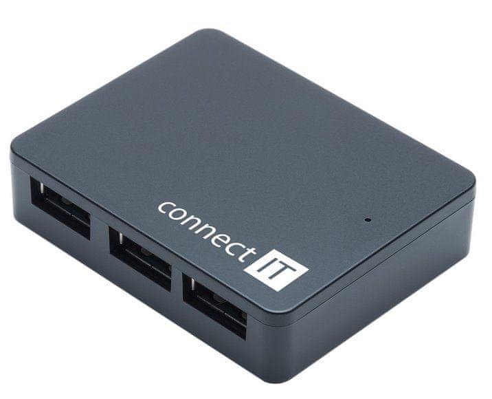 Connect IT SWIFT USB 3.0 hub se 4 porty